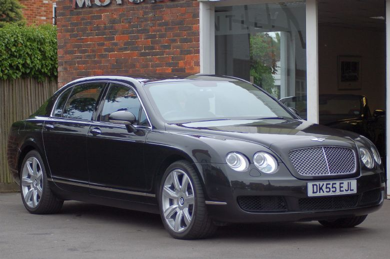 Bentley Continental Flying Spur 2005 Phantom Motor