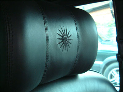 "<span class=""light"">Rolls-Royce</span> Silver Wraith 11 – Macedonian flag Embroidered into headrests."